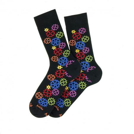 Engrenages cotton socks
