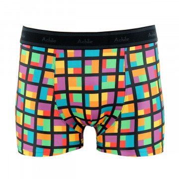 Cubes tight-fitting polyester boxers