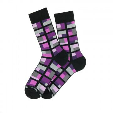 Cubes cotton socks
