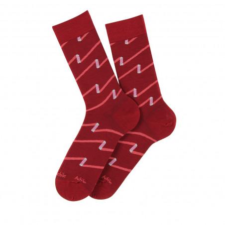 Ruban lisle socks