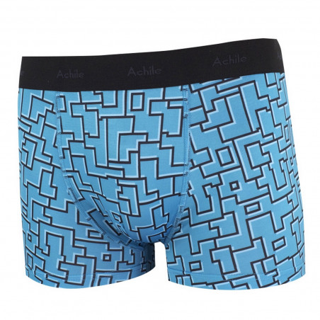 Labyrinthe fitted microfibre boxers
