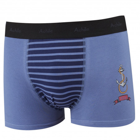 Ancre fitted cotton boxers