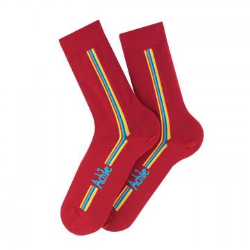 Straight cotton socks