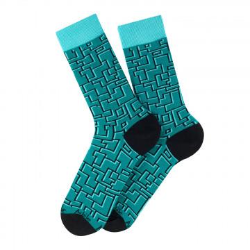 Labyrinthe cotton socks