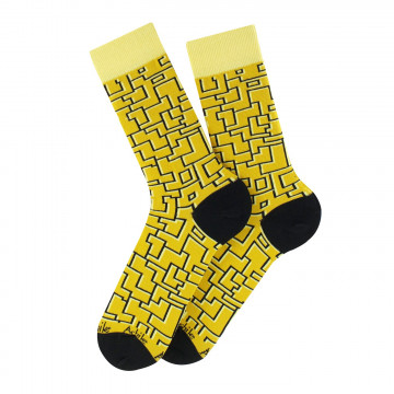 Labyrinthe cotton socks