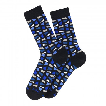 Kaléidoscope cotton socks