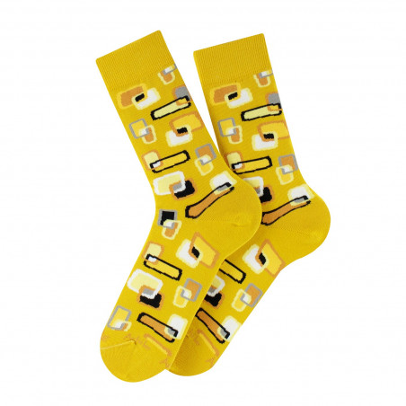 Screen cotton socks