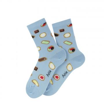 Chaussettes Adèle en coton
