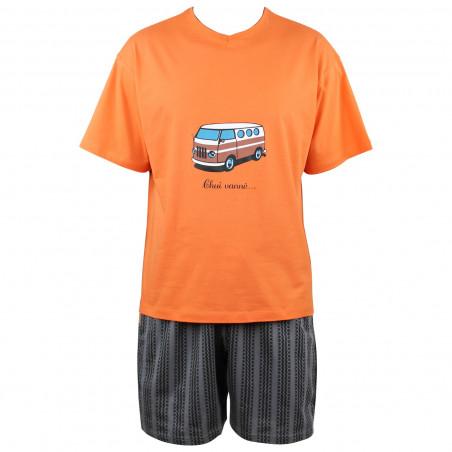 Pyjama court Van en coton