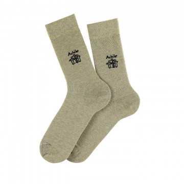 Petit Logo cotton socks.