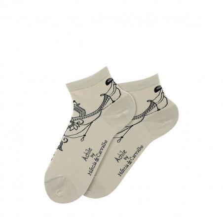 Anckle socks Tatoo by Marcia de Carvalho