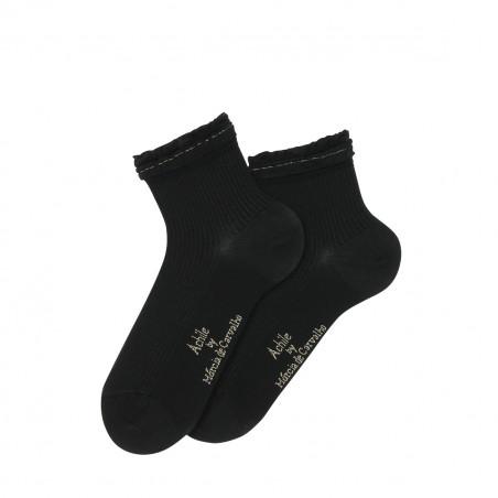 Anckle socks Volants by Marcia de Carvalho