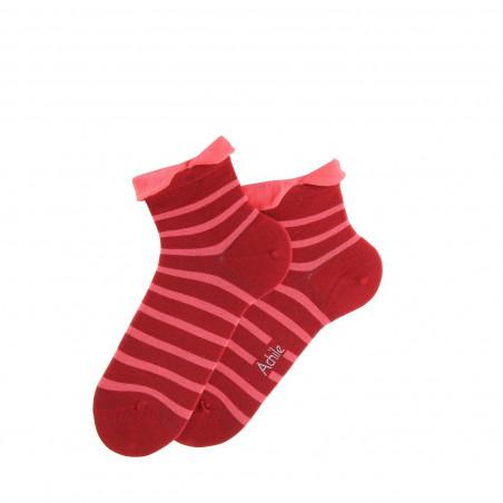 Socquettes Parisienne en coton