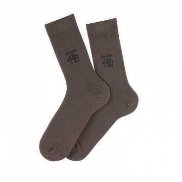 Chaussettes Petit Logo en coton