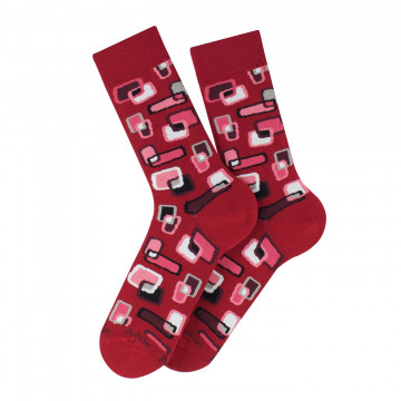 Screen cotton socks