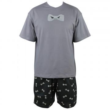 Pyjama court Nœud Papillon en coton