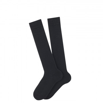 Edelweiss knee-length cotton socks