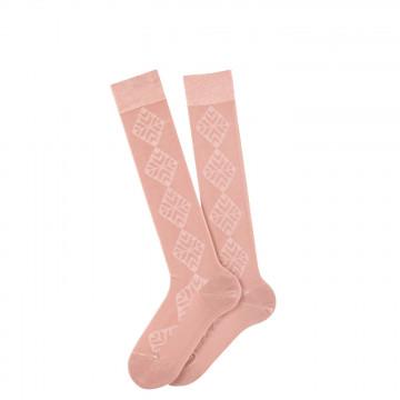 Edelweiss knee-length cotton socks