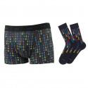 Coffret Matrice chaussettes et boxer assortis