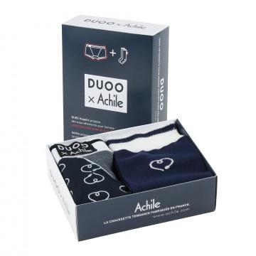 Coffret chaussettes et boxer Duoo