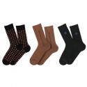 Coffret Chic Type de 3 paires de chaussettes