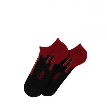 Flashy no-show cotton socks