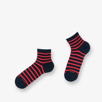 Socquettes Corsaire en coton