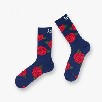 Chaussettes Roses en coton