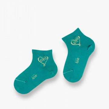 Socquettes Love en coton...
