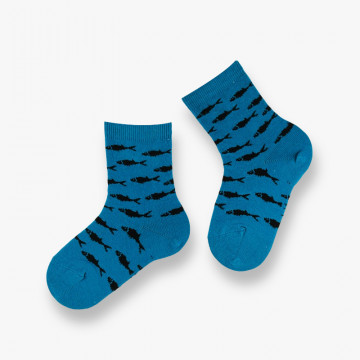 Poissons cotton socks