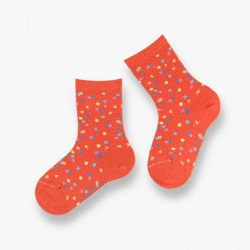Confetti cotton socks