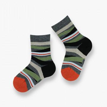 Chaussettes Stripes en coton