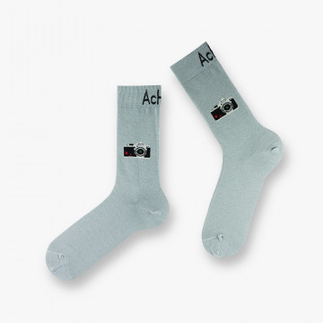 Camera cotton socks