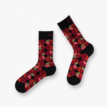 Jones lisle socks.