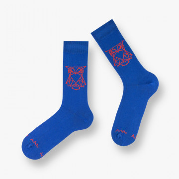 Cotton socks Hibou