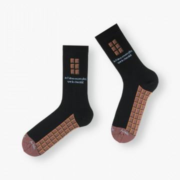 Chaussettes Valentin en coton