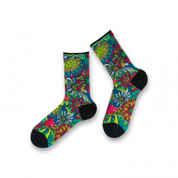 Chaussettes Flower Power...