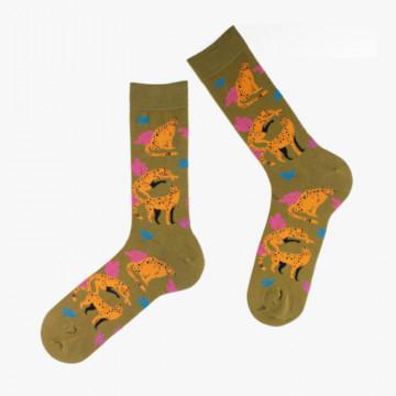 Chaussettes Aztèque en coton