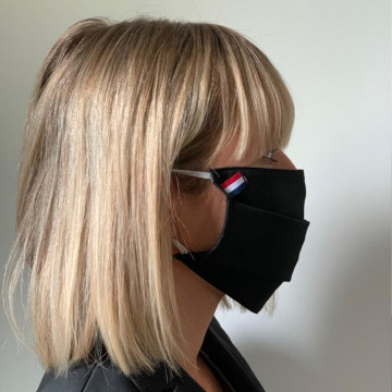 Lot de 2 masques barrières...
